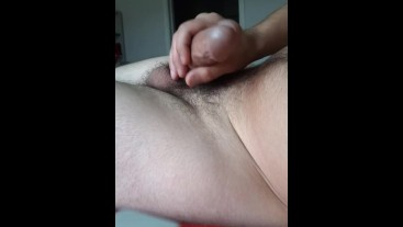 Stroking my own dick for your pleasures cum at the end :)