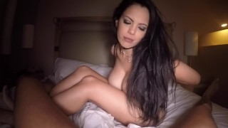 Screen Capture of Video Titled: POV - Estaba ... y me despertaron... primera parte...