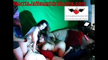 Webcam threesome of me & 2 hot models; they suck me hard then I fuck them:)