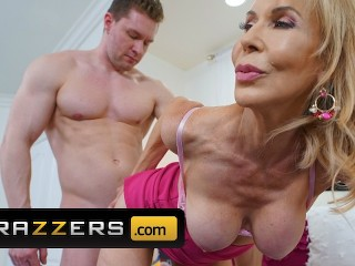 Wife And Massage Fucking, Brazzers- Busty blonde milf EricA Lauren gets big dick for motherday Big