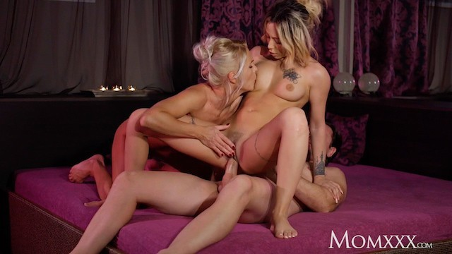 Spa threesome tubes - Mom kathy anderson spa threesome with hot french milf jennifer amilton