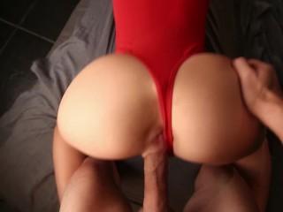 Big Cumshot On Perfect Ass – Cherry Grace