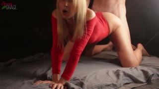 Big Cumshot On Perfect Ass - Cherry Grace