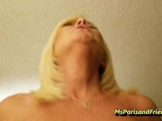 Taboo Step-Mommy Teaches Her Step-Son All About Girls