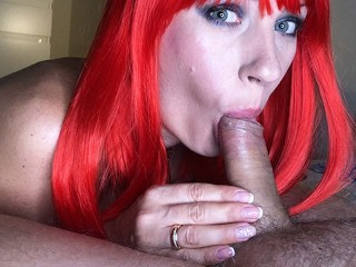 Tube Puffy Nipples Green eye contact - throbbing CIM by SexAfterWedding