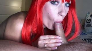 Green eye contact - throbbing CIM by SexAfterWedding