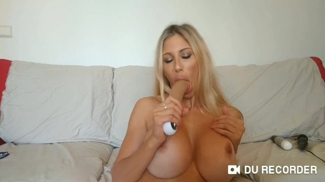 The milf Puma Swede is beauty and funny with your big dildo
