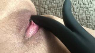 Hot Teen Masturbation Orgasm with Contractions