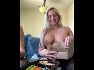 Topless Lunch with Alexis Fawx main image