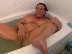 BATH-TIME WITH MOMMY