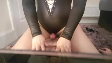 Cum4Chloe Squirting on Slave and Cum Denial teaser part 2