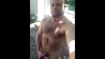 Hayden's Dick Outside
