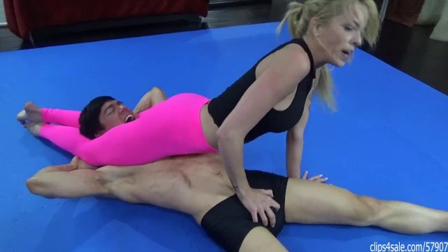 Boy girl fucking video Guy vs girl wrestling and the loser gets fucked in the next video