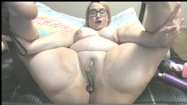 Loud BBW Creamy Masturbation
