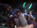 Dreadlord Jaina (Animation Compilation)