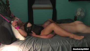 Milf sucks, fucks, and assfucks for cum shot...