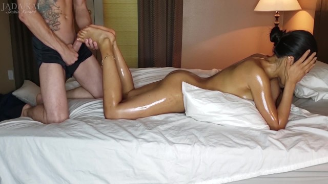Asian girls getting dped videos Asian girls gets massage and facial