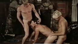Leo Ford & Lance in Threeway from BLONDES DO IT BEST (1985)