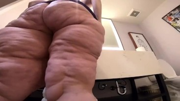 Super size POV ass worshi