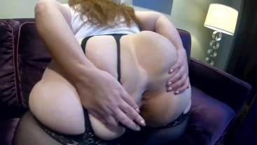 Mega ass spreading
