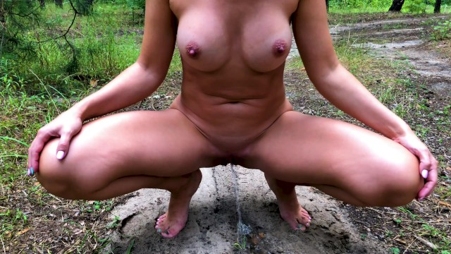 Rate my tits boobs Hot naked girl with big boobs peeing in public park. rate my beautiful tits