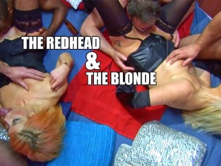 The redhead and the blonde
