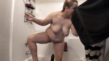 Shower With Your BBW Gf