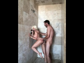 Luna Star busty blond babe fucked in the shower – MySexMobile
