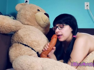 Play Time with Kiwwi Teddy Bear Fuck Short Lil Kiwwi Monster