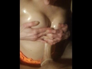 New sex update wife has orgasm with vibrator and butt-plug milf female orgasm wife v