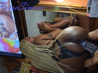 Picture of ReeseSimone MIRROR SEX. I love watching myself get off and all creamy!!
