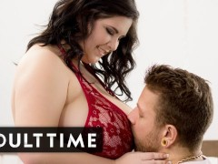 Adult Time Bbw Mischievous Kitty Attempts On Undergarments For Her Guy