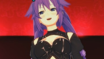 Neptunia - Purple Heart 3D Hentai