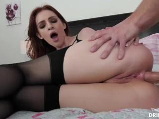Petite Redhead Anal Lover Maya Kendrick Takes A Big Cock In Her Ass Maya Kendrick