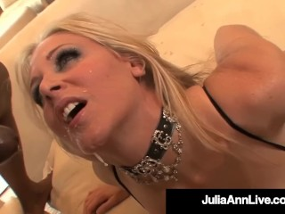 Show Free Sexy Video Fucking, Busty Cougar JuliA Ann Gets Her Butt Violated By 4 BBCs Big Tits