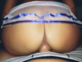 Pov cock riding and titfuck cum on tits