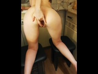 You Tube Sexy Dancing Sex With Alina In The Kitchen, Amateur Brunette Milf Small Tits Russian