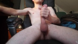 Stroking My Big Cock For 2 Cumshots
