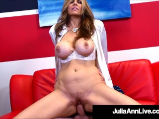 Horny Hot Teacher Julia Ann Fucks Her Hard Cock Pupil Julia Ann