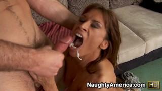 Naughty America - Devon Michaels seduces a married man again!