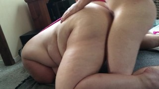 BBW slave get fucked hard in the ass