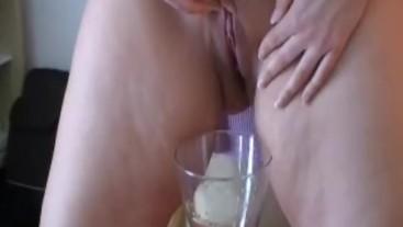 Pissing in webcam show