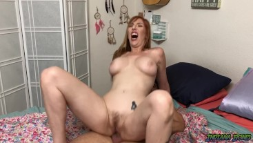 Fucking Redhead Roommate MILF Lauren Phillips