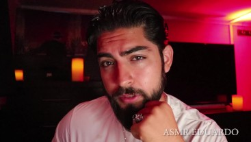 ASMR Handsome Male With Beard Ft. Deep Sexy Voice, Eating, & Yawning