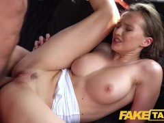 Fake Taxi Sexy minx Stacy Cruz gives driver multiple orgasms