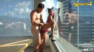MamacitaZ - Colombian Slut Indira Ulma Seduces and Fucks Latino Stud