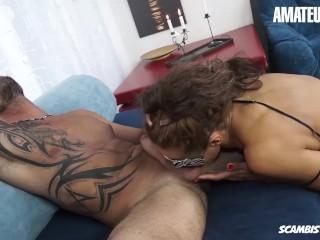 AmateurEuro Italian MILF Seduces and Fucks Her StepSon On Camera