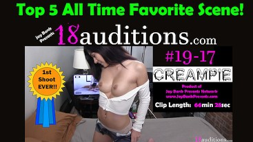 #19-17 Arab Teen Creampie - FIRST TIME Fucking on Camera!