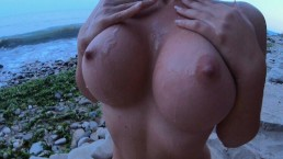 Could you resist that naked body on the beach ..and ANAL ?