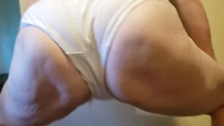 Twerking Granny Panties: ASSQUAKE by Seattle Ganja Goddess solo big ass